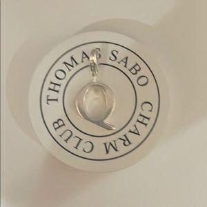 """Thomas Sabo letter """"Q"""" charm"""
